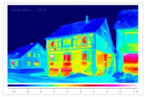 Gebäudethermografie Ansicht