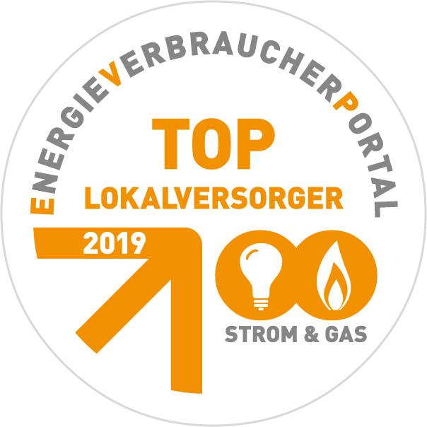 TOP Lokalversorger Sigel 2019